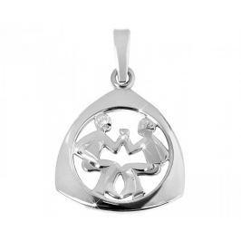 Brilio Silver Stříbrný přívěsek Blíženci 441 001 00891 04 - 1,23 g stříbro 925/1000