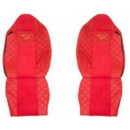 F-CORE Potahy na sedadla FX11, červené