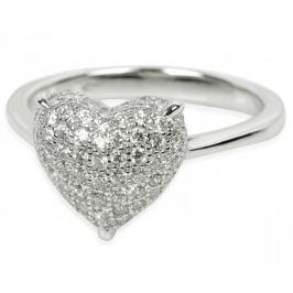 Silver Cat Stříbrný prsten s krystaly SC004 (Obvod 54 mm) stříbro 925/1000