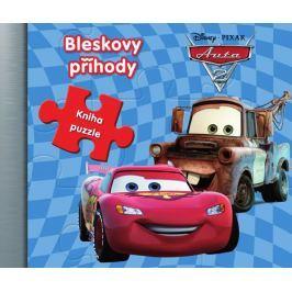 Disney Walt: Auta  - Auta a agenti  - Kniha puzzle