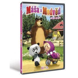 Máša a medvěd 3: Bratránek   - DVD