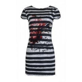 Desigual dámské šaty Maldivas 34 šedá