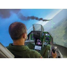 Poukaz Allegria - simulovaný let se stíhačkou F16 - 60 min. Praha