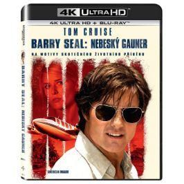 Barry Seal: Nebeský gauner (2 disky) - Blu-ray + 4K ULTRA HD