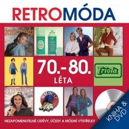Retro Móda 70. - 80. léta   - kniha & DVD