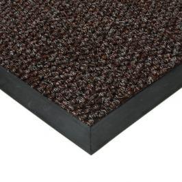 FLOMAT Hnědá textilní zátěžová vstupní čistící rohož Fiona - 50 x 80 x 1,1 cm