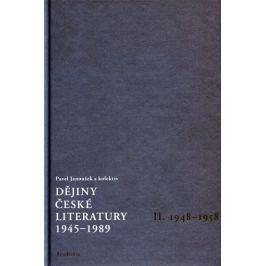 Janoušek Pavel: Dějiny české literatury 1945-1989 - II.díl 1948-1958+CD