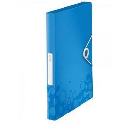 Box na spisy Leitz WOW metalicky modrý