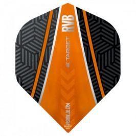 Target – darts Letky RVB - Vision Ultra No6 Curve - Black-Orange 34331540