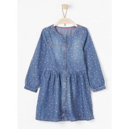 s.Oliver dívčí šaty 104 modrá