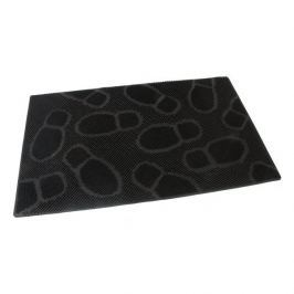 FLOMAT Gumová vstupní kartáčová rohož Shoes - 75 x 45 x 0,8 cm
