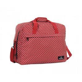 Member's Cestovní taška SB-0036 - červená/bílá