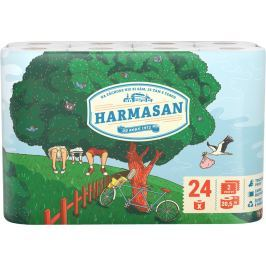 HARMASAN Toaletní papír 2-vrstvý 24 rolí