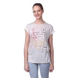 Pepe Jeans dámské tričko Thalia S šedá