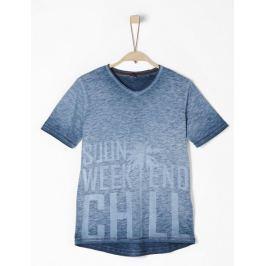 s.Oliver chlapecké tričko S modrá