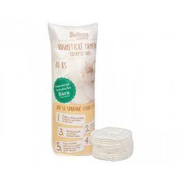 Sefiros Kosmetické tampónky ze 100% bavlny (Cosmetic Pads) 80 ks