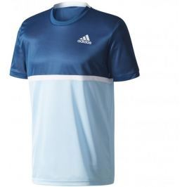 Adidas Court Tee Blue Night/Clear Onix/White/Icey Blue S