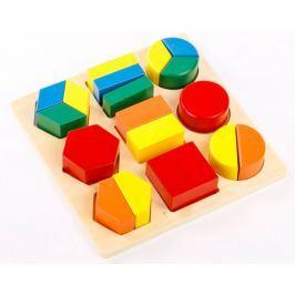 Montessori pomůcky Geometrický tác