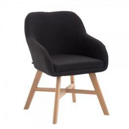 BHM Germany Jídelní / jednací židle Johan textil, černá