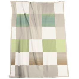 Biederlack Soft Impression Ombré Check Acacia 150x200 cm
