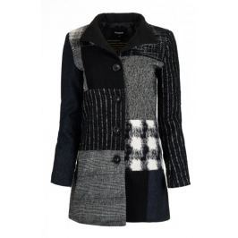 Desigual dámský kabát Rosita 38 černá