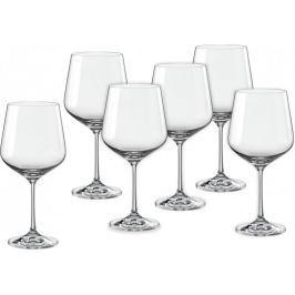 Crystalex Sklenice na víno Sandra 570 ml, 6 ks - rozbaleno