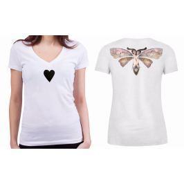 KlokArt dámské bílé tričko Stanley Stella Bella XL