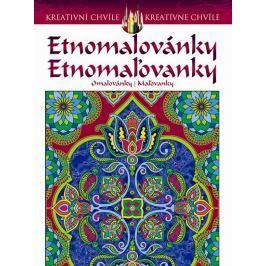 Noble Marty: Etnomalovánky - Omalovánky pro dospělé inspirované populárním uměním mehndi a paisley d