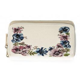Bessie London dámská smetanová peněženka