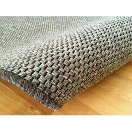 Kusový tmavě béžový koberec Nature 140x200 cm