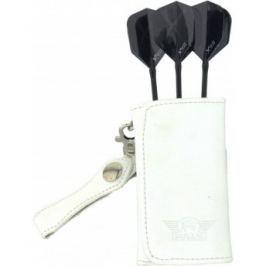Bull's Pouzdro na šipky Leather Caddy - Soft edition - white