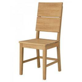 Danish Style Jídelní židle dřevěná Oslo (SET 2 ks)