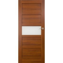 VASCO DOORS Interiérové dveře BRAGA kombinované, model A, Kaštan, D