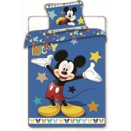 Jerry Fabrics Povlečení Mickey star 140x200 70x90