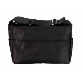 Melobaby MELOTOTE přebalovací taška černá/mat