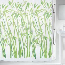 Spirella Sprchový závěs BAMBUS green 180x200 cm