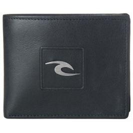 Rip Curl pánská černá peněženka Rider RFID 2 in 1