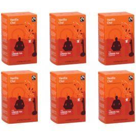 London Tea Company Fairtrade černý čaj pyramidový vanilka s orientálním kořením Vanilla Chai 15ks x 4