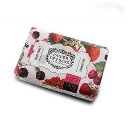 Panier des Sens Extra jemné přírodní mýdlo s bambuckým máslem Červené bobule (Extra Gentle Soap) 200 g