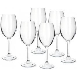 Banquet sklenice na bílé víno Leona 230 ml, 6 ks Sklenice