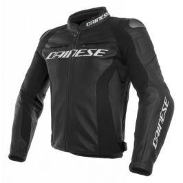 Dainese bunda RACING 3 vel.48 černá, kůže Bundy na motorku