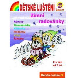 Dětské luštění 9 - Zimní radovánky