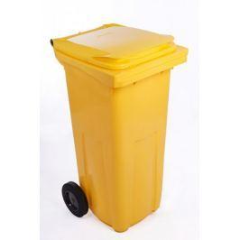 J.A.D. TOOLS popelnice 120 l žlutá plastová