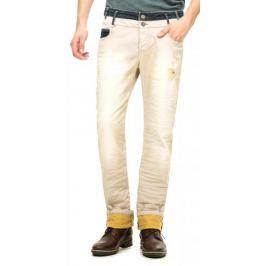 Desigual pánské jeansy 30 béžová