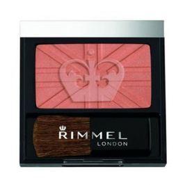 Rimmel Pudrová tvářenka se štětečkem Lasting Finish 4,5 g (Odstín 190 Coral )