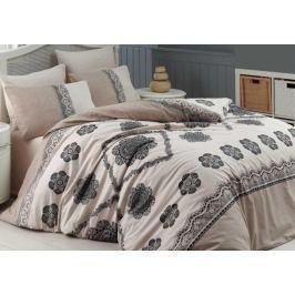 Homeville Povlečení bavlna Cotton lace se dvěma povlaky na polštář 140x200 / 70x90 + 50x70