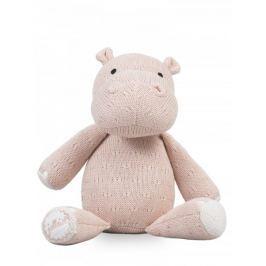 Jollein Stuffeld animal Soft knit hippo peach