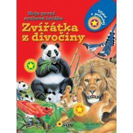 Zvířátka z divočiny - Moje první zvuková knížka
