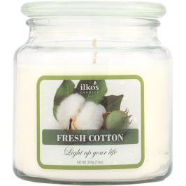 Ilkos Vonná svíčka Fresh Cotton, střední