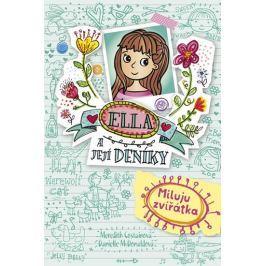 Costainová Meredith: Ella a její deníky 3 - Miluju zvířátka